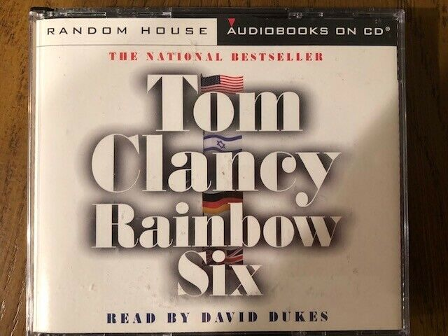 TOM CLANCY RAINBOW SIX AUDIO BOOK ON 5 CD