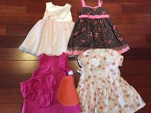 Lot of Baby Girl Dresses (12 to 18 Months)