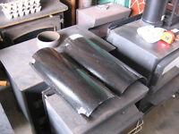 """Heat Shields for 6"""" Wood Stove pipe."""