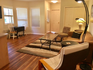 Silver Star Mountain, 1 bdrm furn suite for rent mthly Nov-Apr