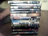 plenty of modern cool dvds and bo and ghosts and modern 1990 to 2000's dvd .