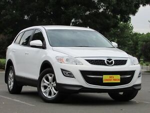 2012 Mazda CX-9 TB10A4 MY12 Classic White 6 Speed Sports Automatic Wagon Blair Athol Port Adelaide Area Preview