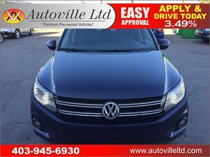 2012 VOLKSWAGEN TIGUAN 4MOTION 2.0 TSI. EVERYONE APPROVED!!