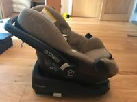 Family fix base (with electronic sensor) with Pebble seat & toy