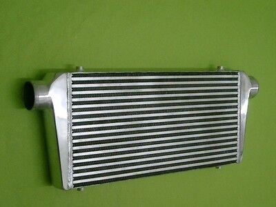 """Burstflow Ladeluftkühler LLK 700x300x76 mm 3 """" 76 mm passend für VW Barand Plate"""