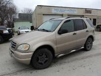 2001 Mercedes-Benz M-Class 3.2L-AWD-SUNROOF-LEATHER-DVD