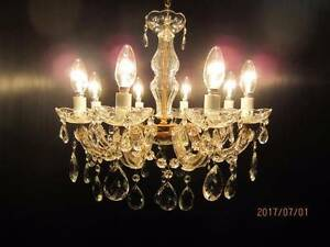 Vintage Chandelier, 8 arm Balga Stirling Area Preview