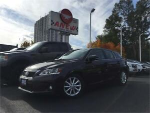2012 Lexus CT 200h Hybird | Certified | Priced to sell