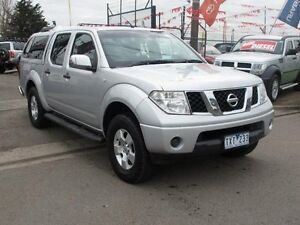 2005 Nissan Navara D40 ST-X (4x4) Silver 6 Speed Manual Dual Cab Pick-up Brooklyn Brimbank Area Preview
