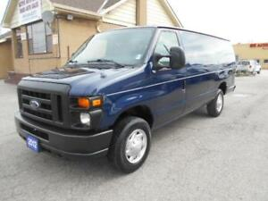 2012 FORD E150 Extended Cargo Van Loaded Certified ONLY 45,000Km