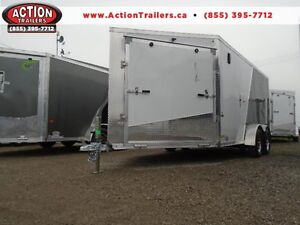 DISCOUNTED ALUMINUM DRIVE IN/OUT 19' AMERALITE TRAILER