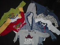 Baby boy bundle of clothes 6-12 months