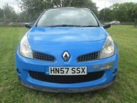 Renault Clio 2.0 VVT sport 3dr Good / Bad Credit Car Finance (blue) 2007