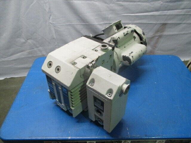 Leybold D4B TRIVAC Vacuum Pump w/ AF 4-8 Exhaust Filter, GE, 453521