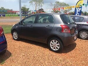 2009 Toyota Yaris Edge Grey 5 Speed Manual Hatchback Hidden Valley Darwin City Preview