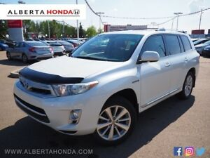 2012 Toyota Highlander Hybrid Limited * HYBRID, SINGLE OWNER, 7-