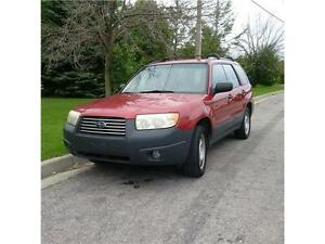 2006 Subaru Forester 2.5X. Certified & Emissions.