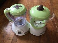 Babymoov Food Processor Blender and Bottle Warming / Steriliser
