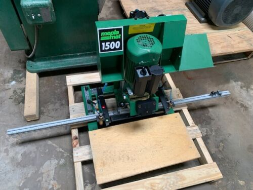 Mepla-Alfit Meplamat 1500 Hinge Boring Machine, Wired 230VAC 3 Phase - Excellent