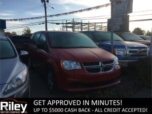2015 Dodge Grand Caravan Canada Value Package STARTING $133 BIWK