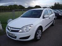 VAUXHALL ASTRA LIFE A-C CDTI Estate, White, Manual, Diesel, 2007