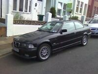 💷 E36 Bmw coupe shell/complete car wanted
