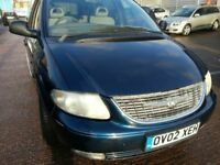 CHRYSLER GRAND VOYAGER 7 SEATER 12 MONTHS MOT AUTOMATIC ALLOYS LEATHER LIMITED EDITION