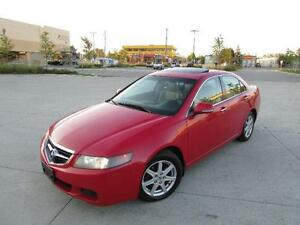 2004 ACURA TSX *6 SPEED,LEATHER,SUNROOF,LOADED!!!*
