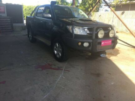 2011 Toyota Hilux Black Utility Hermit Park Townsville City Preview