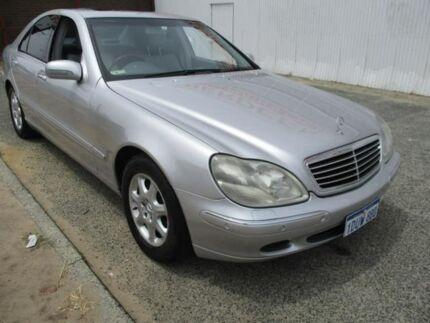 2002 Mercedes-Benz S320 W220 Silver 5 Speed Automatic Sedan