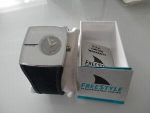 FREESTYLE - montre homme - neuve - bracelet silicone noir
