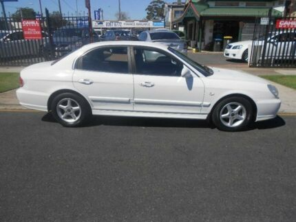 2001 Hyundai Sonata EF-B MY02 White 4 Speed Sports Automatic Sedan Hampstead Gardens Port Adelaide Area Preview