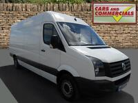 2013 VOLKSWAGEN CRAFTER LWB CR35 High Roof 109ps