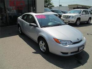 2007 SATURN ION ! WOW ONLY !!!!! 88 KM'S ! A MUST SEE !