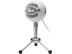 Blue Snowball Microphone with stand
