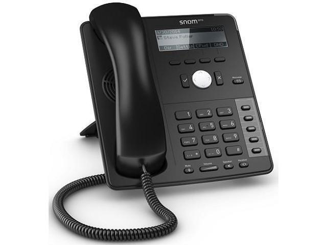 Snom D715 VoIP Desk Telephone with PoE Black SNO-D715