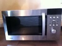 Microwave with girll 8000W ( good condition) + frypan+ water filter.