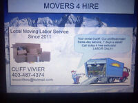 Moving? Rented a Truck? Need Moving Labor? Look No Further