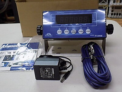 Ti-500e Transcell Weigh Scale Indicator New Ntep Tripp-lite Sk3-0
