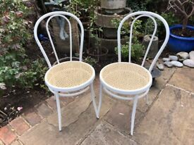 2 x Bistro Chairs