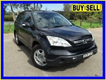 2007 Honda CR-V MY07 (4x4) Black 5 Speed Automatic Wagon Lansvale Liverpool Area Preview