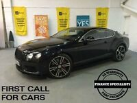 BENTLEY CONTINENTAL 4.0 GT V8 S 2d AUTO 521 BHP BENTLEY CONTINENTAL GT (black) 2015