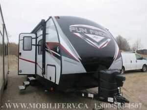 2018 FUN FINDER 23SR COUPLES TRAILER FOR SALE*HIS&HERS SINKs