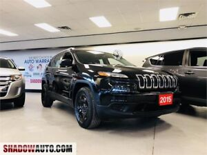 2015 Jeep Cherokee Sport 4x4- LOW KMS! - INSIDE OUR SHOWROOM