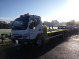 MITSUBISHI CANTER BEAVER TAIL RECOVERY VEHICLE White Manual Diesel, 2011