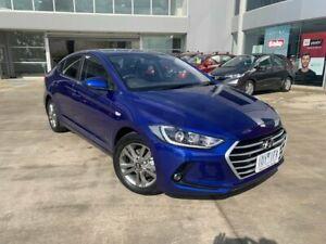 2018 Hyundai Elantra AD.2 MY19 Go Blue 6 Speed Sports Automatic Sedan