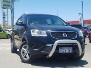 2012 Ssangyong Korando C200 S 2WD Black 6 Speed Sports Automatic Wagon Morley Bayswater Area Preview