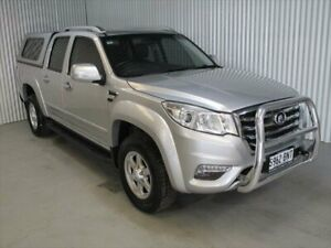 2017 Great Wall Steed NBP (4x4) Silver 6 Speed Manual Dual Cab Utility Kadina Copper Coast Preview
