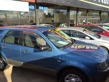 2005 Ford Territory SX TX Blue Sports Automatic Wagon Fyshwick South Canberra Preview