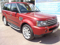 Land Rover Range Rover Sport 3.6TD V8 auto 2008 HSE S/H Sat Nav PX Swap